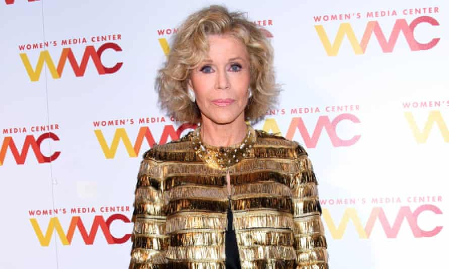 'We don't have to take it anymore. Voting is the way to stop it. Everybody has to vote and I think they will' ... Jane Fonda.
