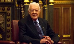 Jimmy Carter: 'The media have been harder on Trump than any other president certainly that I've known about.'