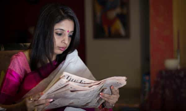 Sadhavi Khosla who claims India's ruling party directly co-ordinated social media campaigns against leading journalists and actors.