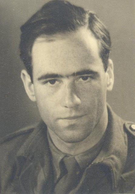 Fritz Lustig during his time in military intelligence.