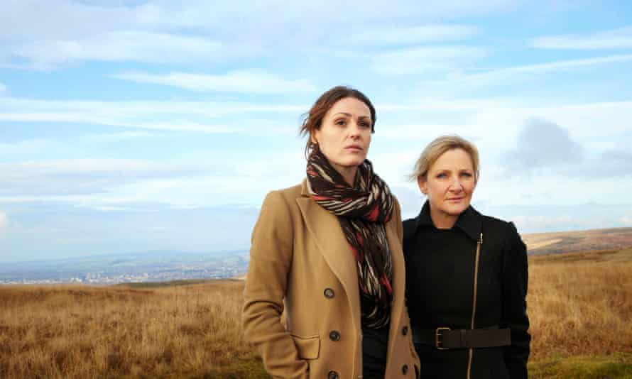 With Lesley Sharp in Scott & Bailey, the show she dreamed up with Coronation Street's Sally Lindsay.