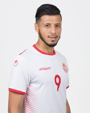 Tunisian striker Anice Badri.
