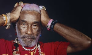 'I am black and white and pink and yellow': Lee Perry.
