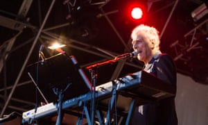 Too dangerous? … John Cale on stage at Liverpool's Sound City festival.