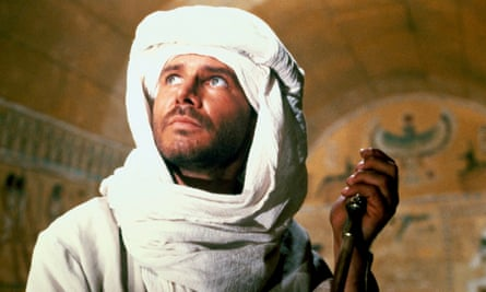 Harrison Ford in Raiders of the Lost Ark, a film that supposedly inspired Boris Johnson's misbegotten film pitch.