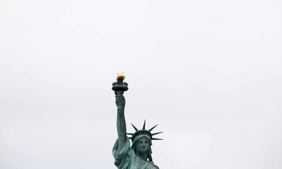 The Statue of Liberty: its meaning is entirely a matter of the angle of perception..
