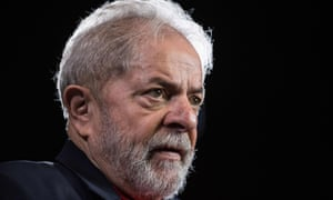 Lula had led in the polls for Brazil's 2018 presidential election before his imprisonment on corruption charges.
