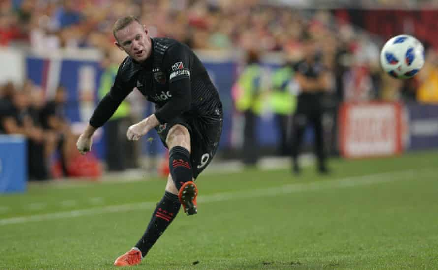 Wayne Rooney in action for DC United in 2018