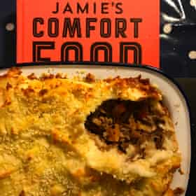 Jamie Oliver's shepherd's pie has potatoes inside AND on top.