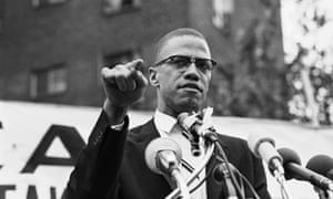 Malcolm X: 'Human rights! Respect as human beings! That's what American's black masses want.'