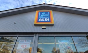 Going up in the world… Aldi is now the fifth largest retailer in the UK.