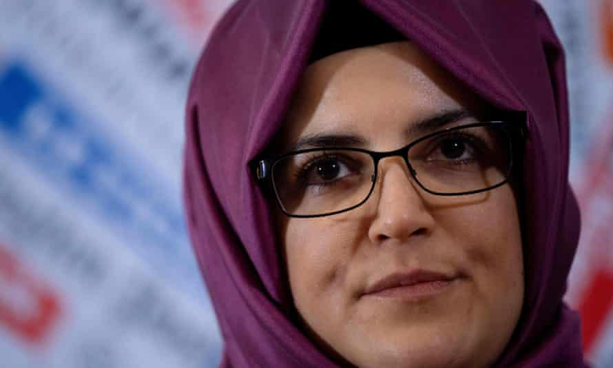 Hatice Cengiz, the Turkish fiancee of Jamal Khashoggi