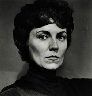 June as Hedda Gabler, photographed by her husband in Melbourne, 1960