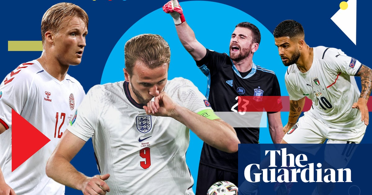 Euro 2020 power rankings: England go top after Ukraine rout