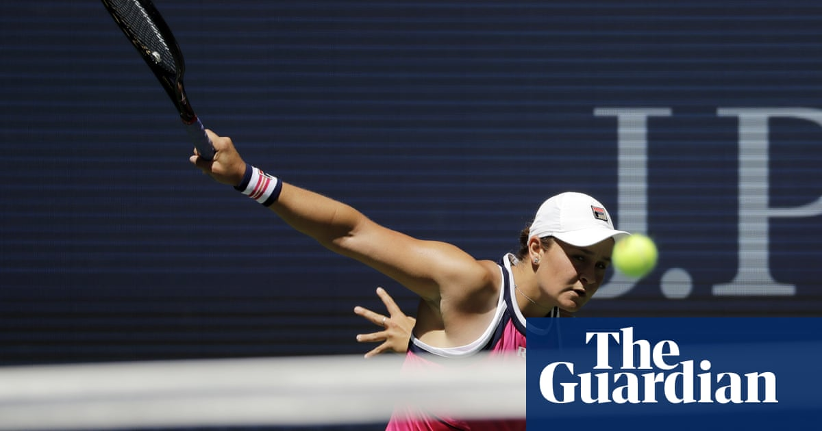 Ash Barty bounces back to win first round at US Open
