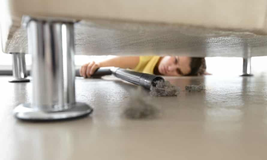 Could keeping a dust-free home be the key to staying slim?