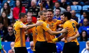 Leander Dendoncker thought he had scored for Wolves – but the joy did not last.