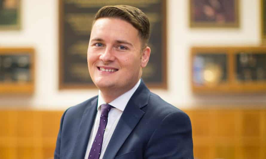 Wes Streeting said he would not be returning to work until he had fully recovered.