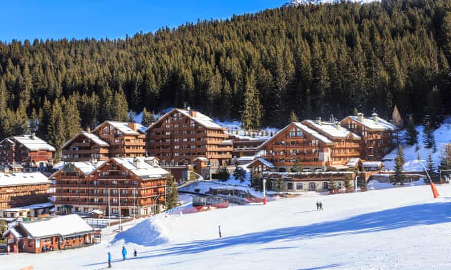 The Méribel ski resort in France.