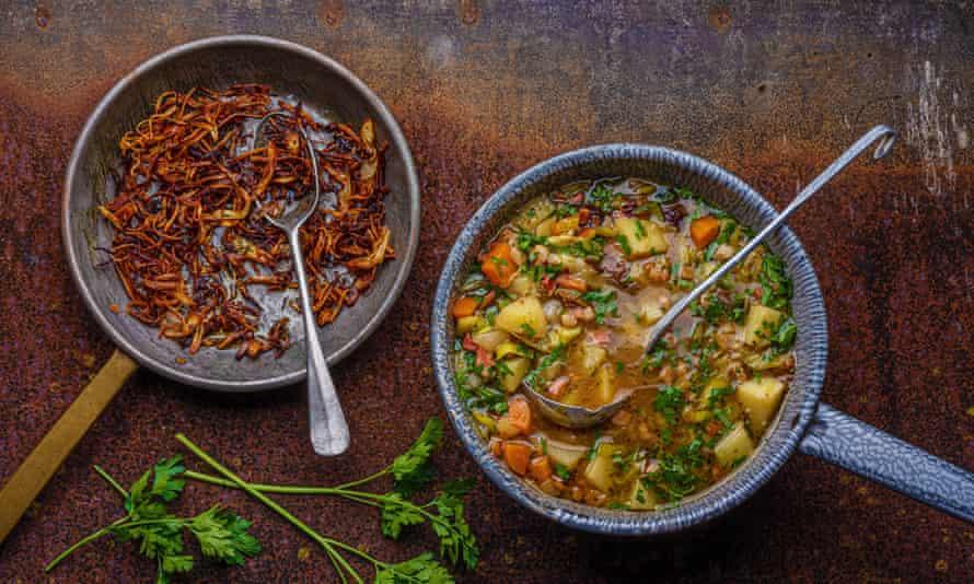 Anja Dunk's heartbreak potato soup.