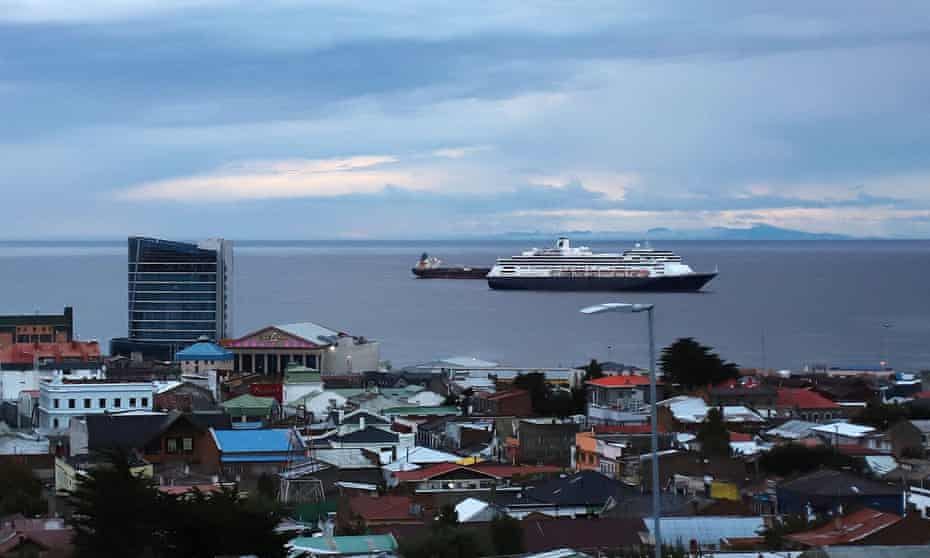 The Zaandam cruise ship, operated by Holland America, has been stranded for days with reportedly 140 cases of respiratory illness on board.
