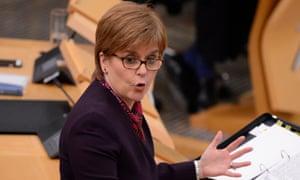 Nicola Sturgeon has bowed to pressure to allow investigation.