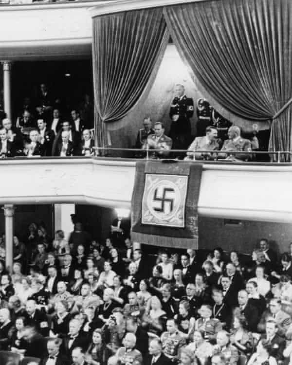 The Nuremberg rally gala performance of Die Meistersinger in 1938.