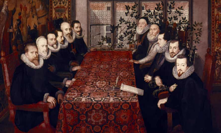 Peace talks … the Somerset House conference of 1604.