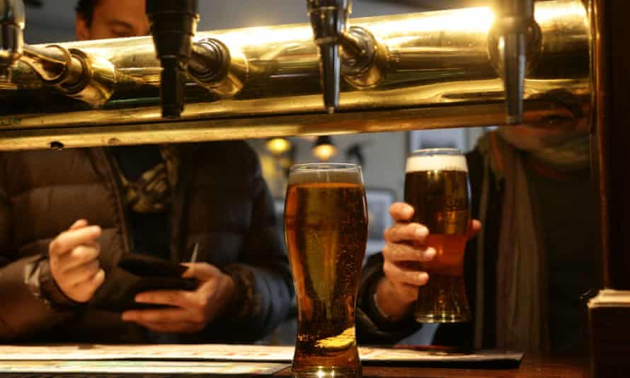 Many pubs are struggling with debt.