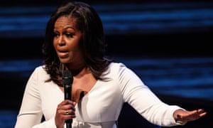 Michelle Obama in London.
