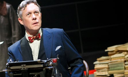 Alex Jennings as Mikhail Bulgakov in Collaborators by John Hodge at the National Theatre.