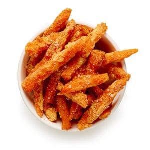 Perfect sweet potato fries.