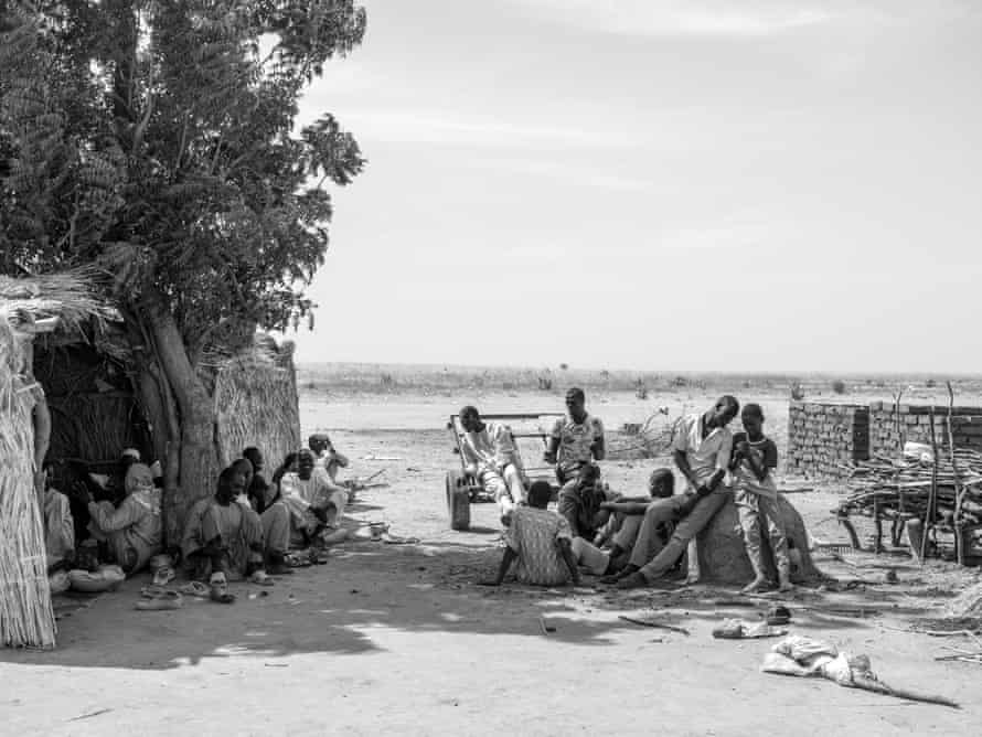 A refugee camp for Cameroonian civilians from villages along the Nigerian border who that have been affected by armed violence.
