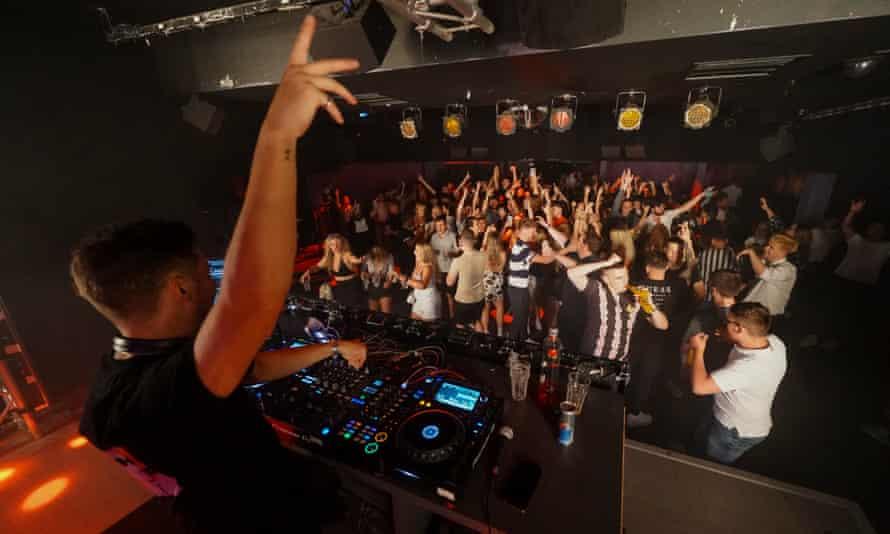 Clubbers in Brighton