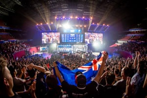 When CS:GO events onscreen reach a climax, Sydney's Qudos Bank Arena thunders with the crowd's euphoria.