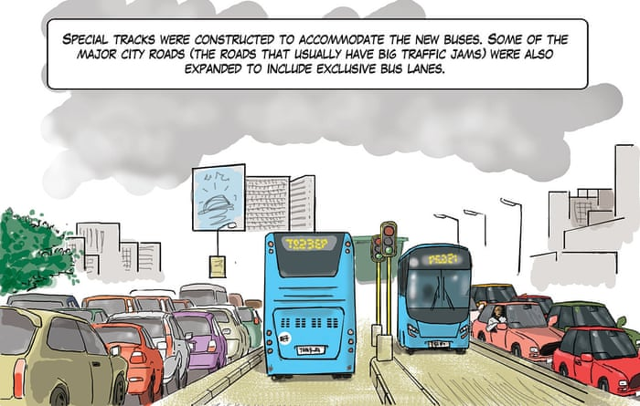 How Do You Stop A Megacity Grinding To A Halt A Cartoon Cities The Guardian