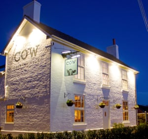 The Cow, Derbyshire, exterior