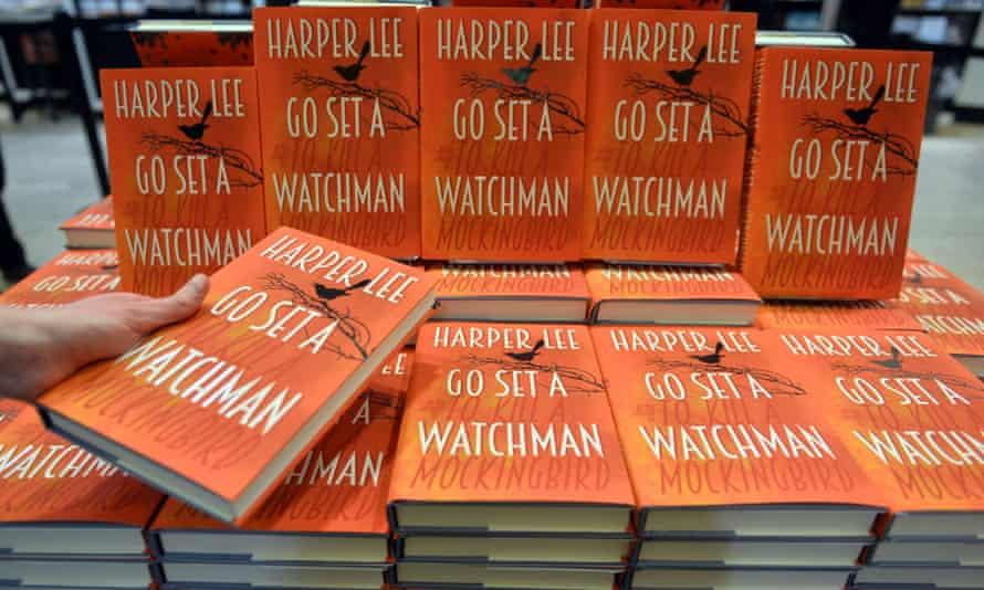 Go Set a Watchman hardbacks on display