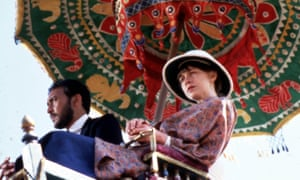 Victor Banerjee and Judy Davis in the David Lean film of A Passage to India (1984).