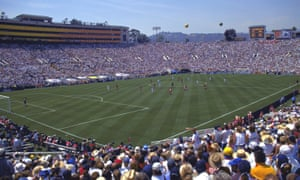 90,185 were in the Rose Bowl stadium to see the host nation take on China in the 1999 final.