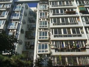 Beijing's hutongs housing blocks
