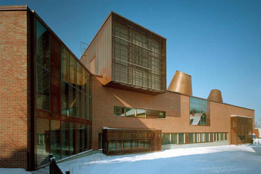 A country of readers … Lohja main library, which was completed in 2005