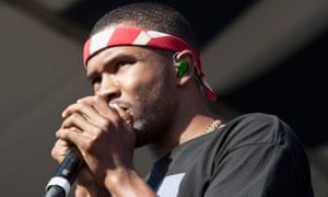 The sound of an artist cashing the critical cheques accrued with his debut release … Frank Ocean.