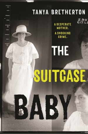 Cover image for The Suitcase Baby by Tanya Bretheron