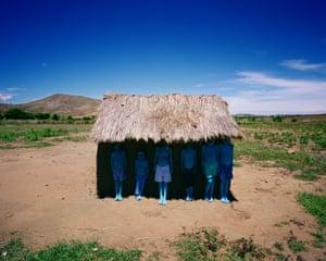 Scarlett Hooft Graafland, Blue People, 2012