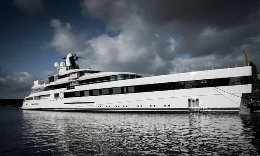 Lady S, a 93-metre superyacht owned by Dan Snyder, boasts the world's first floating Imax theatre.