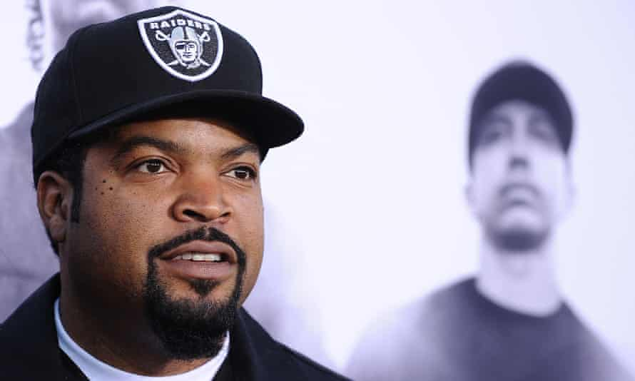 Brawling? Ice Cube was speaking on a panel