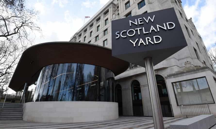 The Metropolitan police headquarters at New Scotland Yard