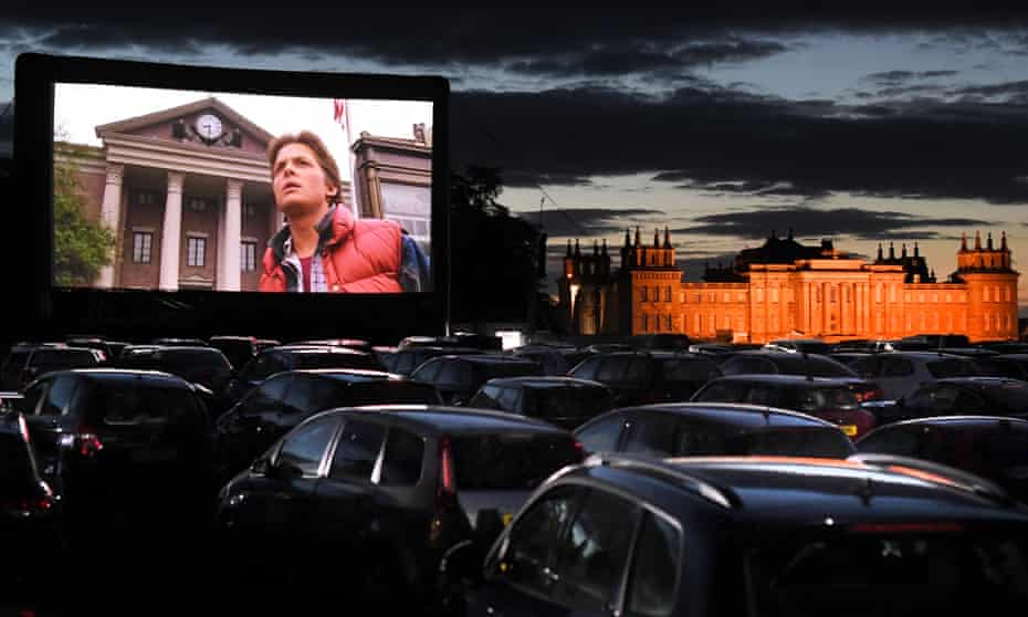 Picture palace ... Back to the Future, playing at a stately home near you.