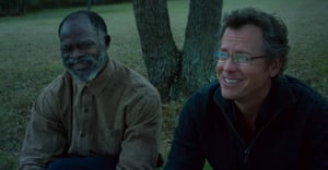 Djimon Hounsou and Greg Kinnear in The Same Kind of Different as Me
